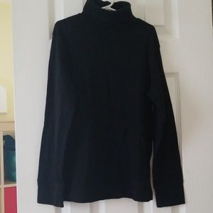Worn once boys black turtleneck